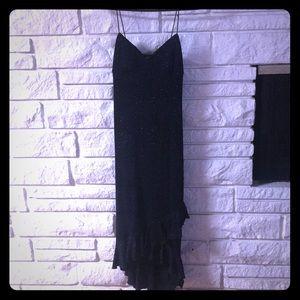 Beautiful Black Sparkly Dress!-Size Medium